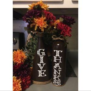 🦋😊Handmade Fall Vase Set
